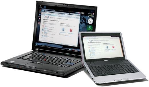 Diferenta dintre notebook si netbook!