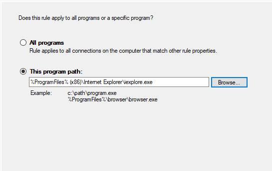 Cum blochezi accesul la Internet Explorer